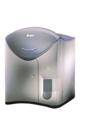 Beckman Coulter Hematology Instruments # 6605705 - Coulter Ac-T 5diff Cap Pierce (CP) Hematology Analyzer, Data Management PC, Data Management Printer, 1 yr. Bus. Hrs 5 Day/ Week Warranty, Each