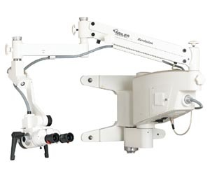 SEILER REVELATION-ENT SERIES MICROSCOPES # E900-302-IS - Revelation ENT w/ inclinable head, Floor Model