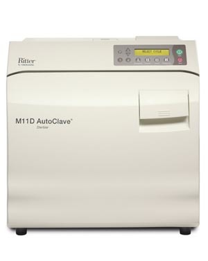 Ritter M11 Ultraclave Automatic Sterilizer # M11-022 - M11 UltraClave Automatic Sterilizer, Each