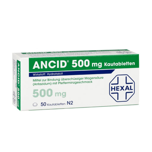 ANCID 500 mg Kautabletten *