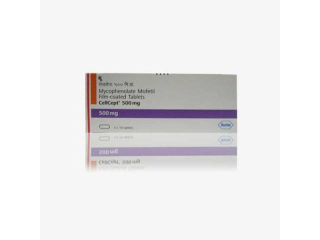 Cellcept : Mycophenolate Mofetil 500 Mg Tablets