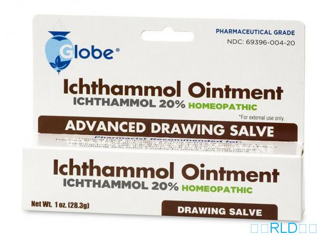 Ichthammol软膏绘画Salve(Ichthammol Ointment Drawing Salve)