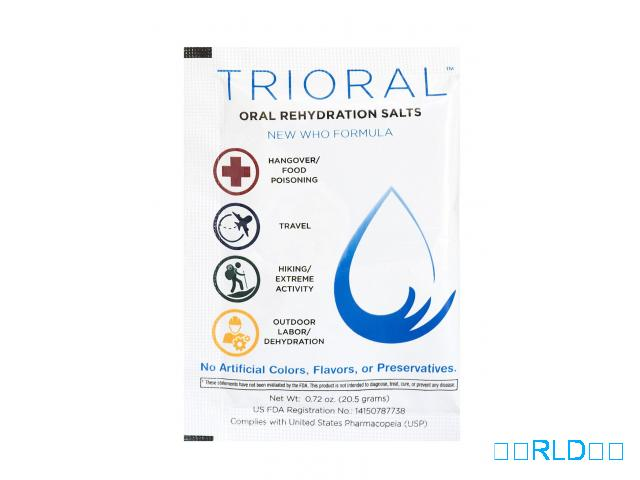 口服补液盐(每包50包)(Oral Rehydration Salts (50 Packets Per Box))