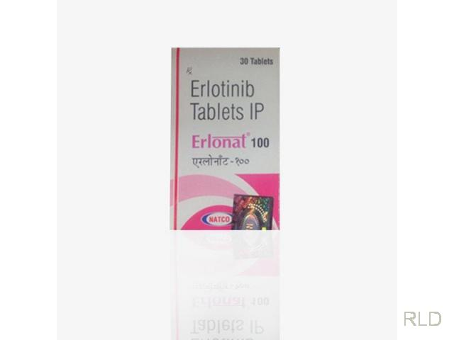 Erlonat:厄洛替尼100镁片(Erlotinib 100 Mg Tablets)