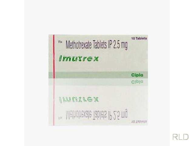 Imutrex:甲氨蝶呤2.5镁片(Methotrexate 2.5 Mg Tablet)