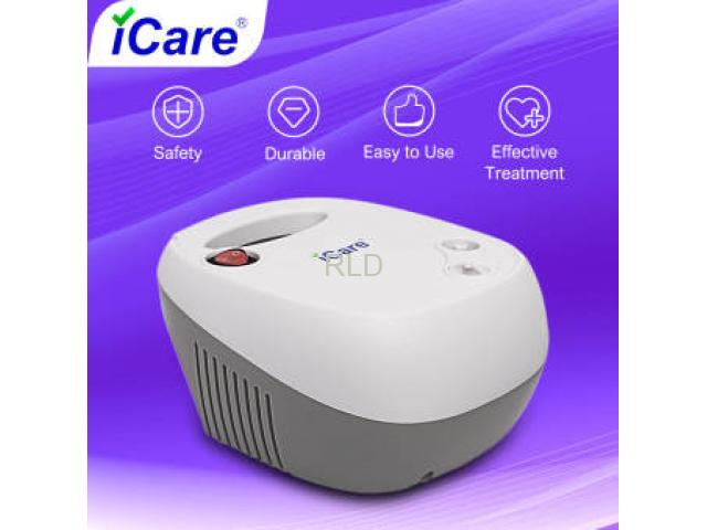 iCare®N38 Ultra Compressor Nebulizer Inhalator with Adult and Children Mask Kits